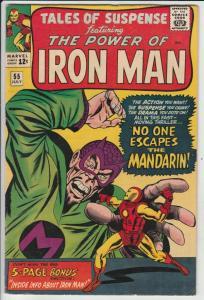 Tales of Suspense #55 (Jul-64) FN/VF Mid-High-Grade Iron Man, Captain America