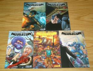 Absolution: Rubicon #1-5 VF/NM complete series - christos gage - wrap variants