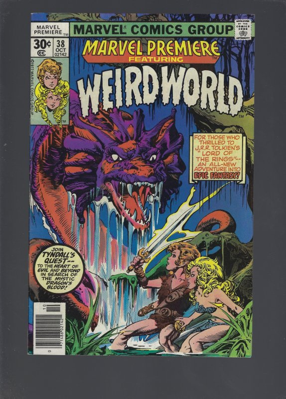 Marvel Premiere #38 (1977)