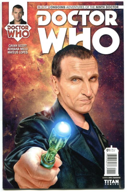 DOCTOR WHO #1 A, NM, 9th, Tardis, 2016, Titan, 1st, more DW in store, Sci-fi