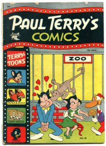Paul Terry's Comics #91 1952-Mighty Mouse- Heckle & Jeckle G