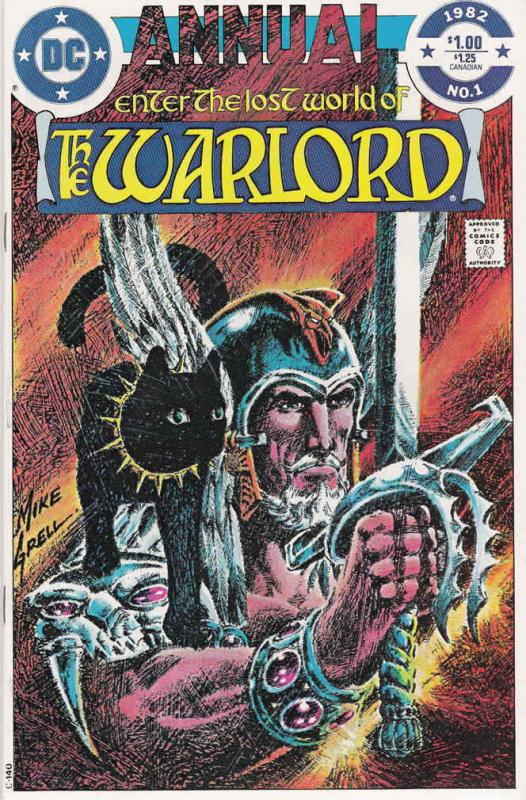 Warlord (DC) Annual #1 VG; DC | low grade comic - save on shipping - details ins