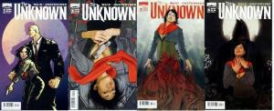 UNKNOWN (2009 BOOM) 1A-4A  Complete Series! COMICS BOOK