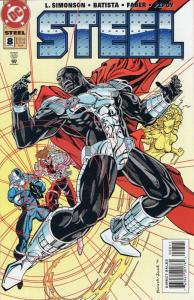 DC COMICS-STEEL #8-GREAT COMIC BOOK-DATED: SEPTEMBER 1994