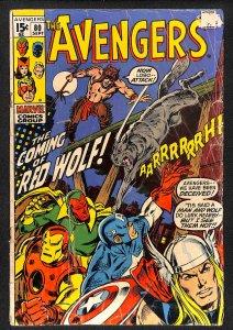The Avengers #80 (1970)