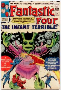 Fantastic Four #24 FN/VF 7.0  The Infant Terrible!