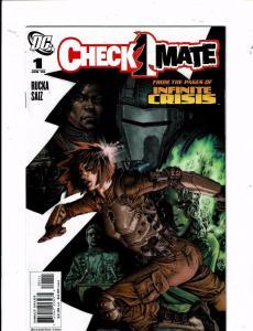 Lot Of 8 Checkmate DC Comic Books # 1 2 3 4 5 6 7 8 Batman Superman Flash J212