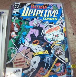DETECTIVE COMICS  # 613 BATMAN DC  gotham tv  1990