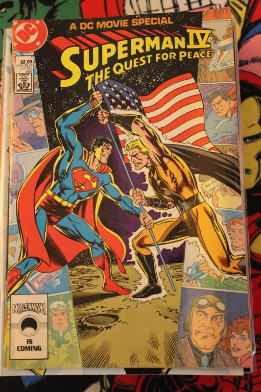 Superman IV The Quest for Peace FN