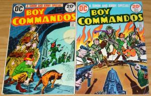 Boy Commandos #1-2 FN complete series - joe simon - jack kirby - dc war comics