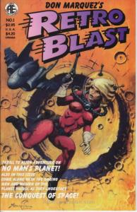 Retro Blast (Don Marquez's…) #1 VF; Amryl | save on shipping - details inside