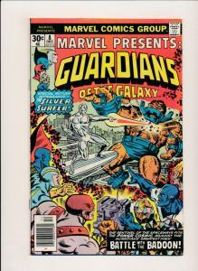 Marvel Presents GUARDIANS OF THE GALAXY #8 Dec 1976 FINE (PF388)
