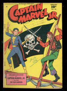 CAPTAIN MARVEL JR #82 1950-FAWCETT COMICS-PIRACY ISSUE VG