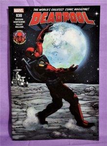 Gerry Duggan DEADPOOL #30 Mike Hawthorne Regular Cover (Marvel, 2017)!