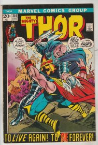 Thor, the Mighty #201 (Jul-72) VG/FN+ Mid-Grade Thor