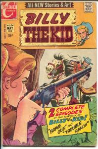 Billy The Kid #84 1971-Charlton-gunfight girl cover-violence-crime-G/VG