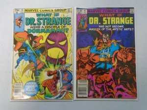 What If? lot 2 diff Doctor Strange issues avg 7.0 FN VF (1979+83 1st Series)