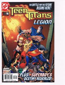 Teen Titans # 16 DC Comic Books Awesome Issue Robin Cyborg Raven WOW!!!!!!!! S24