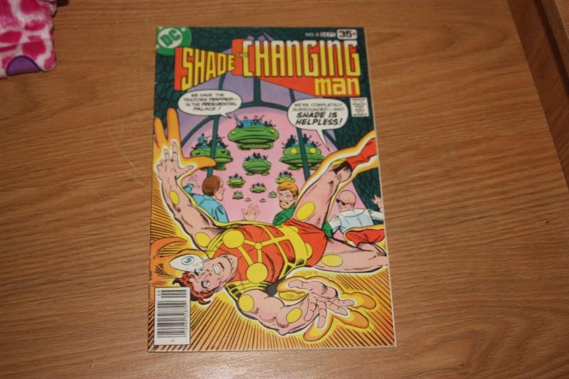 Shade, the Changing Man #8 (Aug-Sep 1978, DC) STEVE DITKO ART
