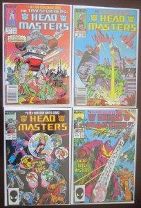 Headmaster Comics Set # 1 - 4 - 6.0 FN - 1987