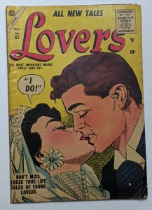 Lovers #67 (May 1955, Atlas) VG 4.0 Vince Colletta cover and art