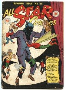 ALL STAR #25-1945-FLASH-HAWKMAN-GREEN LANTERN-ATOM incomplete