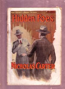 NEW MAGNET LIBRARY-#1009-HIDDEN FOES-NICHOLAS CARTER FR