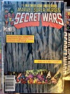 Marvel Super Heroes Secret Wars #4 VF 8.0 (1984)