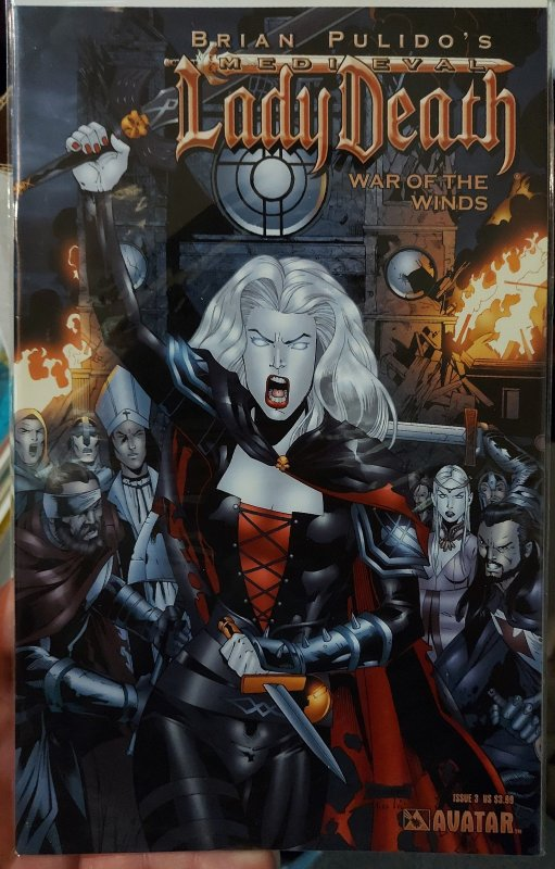 Lady Death: War of the Winds #3 NM