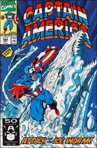 Marvel CAPTAIN AMERICA (1968 Series) #384 VF/NM