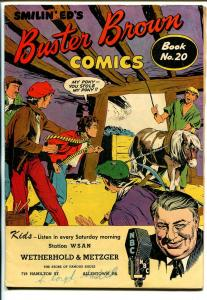 Buster Brown  #20 1940's-adventure-humor-VG