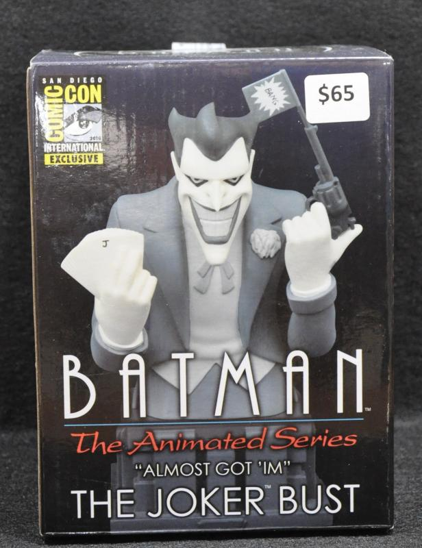 Batman Animated Series Almost Got 'Im Joker Bust Ltd 1100