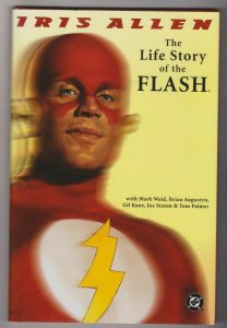 THE LIFE STORY OF THE FLASH by IRIS ALLEN 1997 1ST PRINT HARDBACK DC COMICS