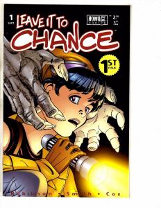 Lot Of 5 Leave It To Chance Image Homage Comic Books # 1 2 3 4 5 PP13