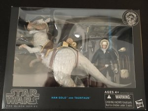 HAN SOLO AND TAUNTAUN Star Wars Black Series Unopened 6 Action Figures