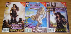 Xena Warrior Princess and the Original Olympics #1-3 VF/NM complete series 1998