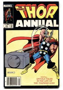 THOR ANNUAL #11-1st appearance of Eitri-1983-Marvel