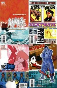 NEXTWAVE (2006) 1A,2-4  Warren Ellis & Stuart Immonen COMICS BOOK