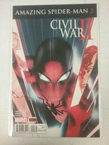 CIVIL WAR II: Amazing Spider-Man #2  Marvel Comics 2016 NW139