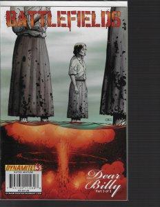 Battlefields: Dear Billy #3 (Dynamite, 2009) NM