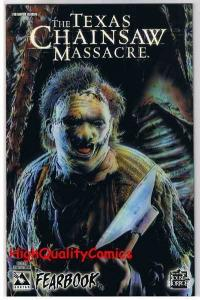 TEXAS CHAINSAW MASSACRE FEARBOOK #1, NM-, Terror, Axe, 2006, more in store