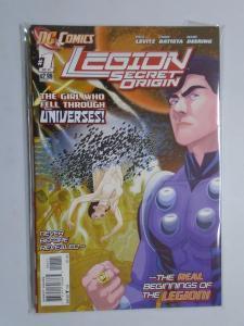 Legion Secret Origin (2011) #1-6 Set - 8.0 VF - 2011