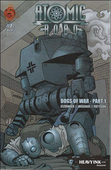 Atomic Robo: Dogs of War #1A VF; Red 5 | save on shipping - details inside