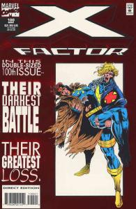 X-Factor #100SC VF/NM; Marvel | save on shipping - details inside