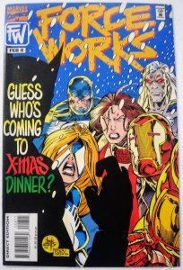 Force Works #8 (VF/NM) No Reserve! 1¢ auction! See more Marvel