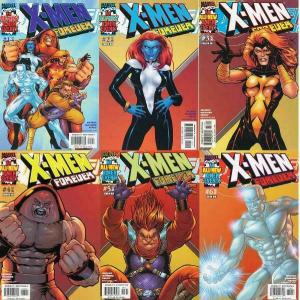 X MEN FOREVER (2001) 1-6  COMPLETE 1ST SERIES!