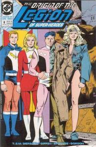 Legion of Super-Heroes (1989 series) #8, NM (Stock photo)
