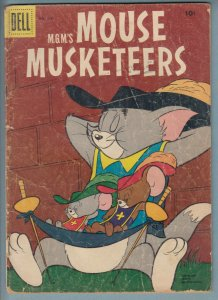 Mouse Musketeers #764 (0 1956) 2.0 GD Dell Four Color Comic