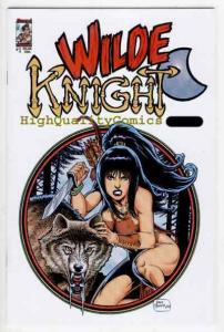 WILDE KNIGHT #1, NM, Petras, Hoover, 2003, Femme Fatale, more indies store