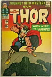 THOR#125 VG/FN 1966 (JOURNEY INTO MYSTERY) MARVEL SILVER AGE COMICS